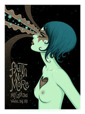 FAITH NO MORE poster New York (night 1) 2015 by Tara McPherson ARTIST PROOF
