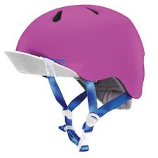 Bern Nina Summer Youth Womens Helmet & Visor Satin Hot Pink XSmall / Small