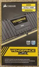CORSAIR Vengeance LPX 8GB (2 x 4GB) DDR4 2666 (PC4 21300) (CMK8GX4M2A2666C16)