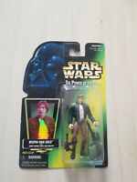 NEW 1995 Kenner Star Wars Power of the Force Bespin Han Solo Action Figure NIP
