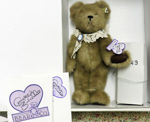 NMIB ANNETTE FUNICELLO/MARIE OSMOND CAMEO & LUREE BEAR & DOLL TOGETHER LTD ED