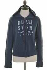 HOLLISTER Womens Hoodie Sweater Size 6 XS Navy Blue Cotton  FC14