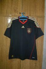Germany Team Adidas Football Shirt Away 2010/2011 Black Jersey Soccer Men Size L
