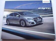 Honda Paper 2016 Sales Car Brochures