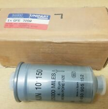 ROVER 820 FUEL FILTER UNIPART ROVER RECOMMENDED GFE7009  WJN101150