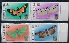 TUVALU 1980 Mi.No. 125 - 128 Butterflies 4v MNH**