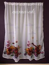 Disney Voile Net Curtain - WINNIE THE POOH - 75 cm width x 150 cm drop