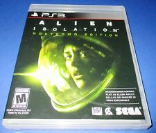 Alien Isolation PS3  Factory Sealed!!  Free Shipping!!