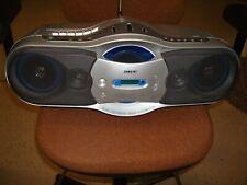Sony Cfd-F10 Headphone Jack Cd-R Playback Am Fm Cd-Rw Playback Cassette Record