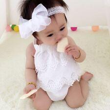 Newborn Toddler Baby Boys Girls Romper Bodysuit Outfit Sunsuit Clothes Set lot