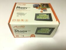 MIO MOOV 300 PORTABLE  GPS NAVIGATION DEVICE WITH TEXT - TO - SPEECH
