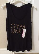 Z by Zobha black rayon  tank top blouse - size S   / GYM JUNKIE