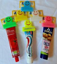Smiley TUBE SQUEEZER - Bathroom, Kitchen, Toothpaste, Hand Cream, Tomato Puree