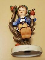"Goebel West Germany Hummel Figurine Apple Tree Boy #742 3/0 4"" Vintage"