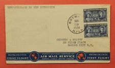 Dr Who 1939 Newfoundland Canada First Flight Botwood To Shediac C219266