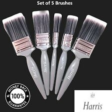 Paint Brushes Set Essentials Walls & Ceilings Professional Painter Harris /Guhar