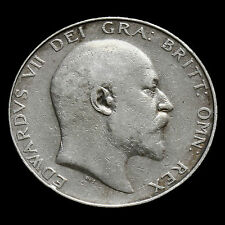 1909 Edward VII Silver Half Crown – GF  #2