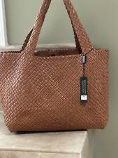 NWT FALOR Firenze Woven Leather Tot