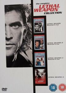 Lethal Weapon: Complete Movie DVD Collection Includes 1 2 3 4 Films [Mel Gibson]