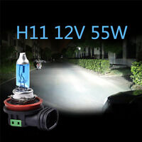 2Pcs H11 12V 55W/100W Xenon White 6000K Halogen Bulb Car Headlight Lamp Light