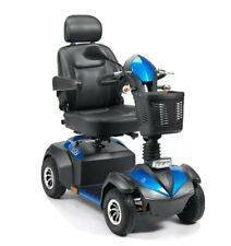 Drive Envoy 8mph Mobility Scooter 30 Miles LED Headlights Suspension - 4 Colours