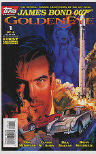 JAMES BOND GOLDENEYE COMIC BOOK 1995 TOPPS COMICS ISSUE #1 PIERCE BROSNAN