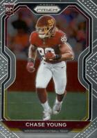 2020 Panini Prizm Chase Young Rookie RC #383 Washington Football Team