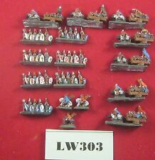 10mm scale Knights & Wagons, Suitable for Warmaster  Metal Ref LW303
