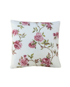 """Sanderson fabric Rose garden in Ivory Pink cushion cover/sham Pillow case 16"""""""