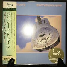 DIRE STRAITS- Brothers In Arms, Japan MINI LP SHM CD w/OBI UICY-93733 LE #3380