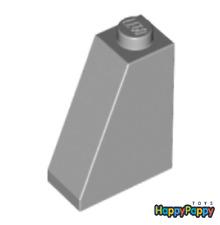 Lego 8x Dach Schräg Stein 65 2x1x2 Hell Grau Light Bluish Gray Slope 60481 Neu