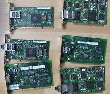 6 Netzwerkkarten PCI-X 64 bit Ethernet GBit und Fibre Channel