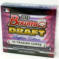 2019 Bowman Draft Sapphire Edition Baseball Live Random Player 1 Box Break #1