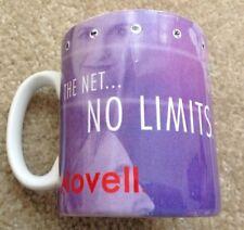 "NOVELL Promotional Vintage ""THE NET.. NO LIMITS"" Mug Computer 90s Cup"