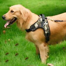 Fashion Large Pet Dog Vest Harness Leash Collar Set No Pull Adjustable S/M/L/XL