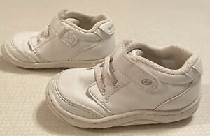 Stride Rite Toddler Leather Boys High Top Shoes Size 5