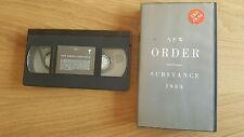 New Order - Substance 1989 - good Condition VHS 121/2