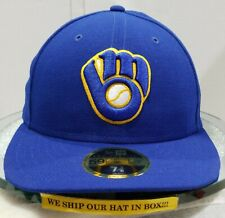 Milwaukee Brewers~MLB~New Era~59FIFTY~Authentic~On Field~ALT 2019~Low Profile