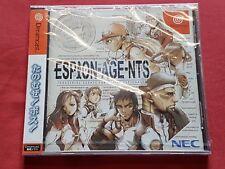 Japan Sega Dreamcast ESPION-AGE-NTS (New/Sealed) NEC