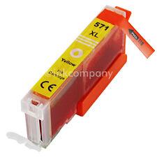 1 cartucce XL YELLOW con CHIP per CANON cli571 Pixma mg5750 mg6850 mg7750 mg5700