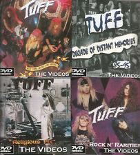 "TUFF ""What Comes Around"" 4 DVD SET Stevie Rachelle signed Poison Crue Ratt Glam"