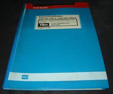 Microfich Audi 100 200 Typ 44 C3 4 Zylinder Vergaser Motor DR DS JW NP RS SH