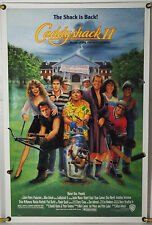 CADDYSHACK II ROLLED ORIG 1SH MOVIE POSTER CHEVY CHASE DYAN CANNON (1988)