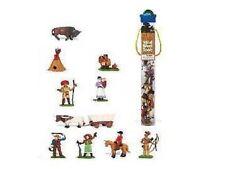 Wild West La vie im Sauvage Westen 11 Mini figurines Zone thématique Safari Ltd