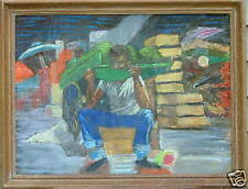 LUCY BROWN L'ENGLE NEW ORLEANS AFRICAN AMERICAN WATERMELON MAN WOMAN ARTIST