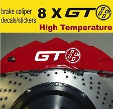 8 X GT 86 Toyota Brake Caliper Decals Stickers Vinyl Emblem Logo Graphics Car A