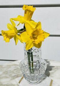 WATERFORD Meg Bud Vase 14cm/ 5.5inch Crystal Vase Decor Wedding Reception