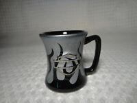 Harley Davidson Shot Glass Mug Black & Silver
