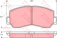 Bremsbelagsatz Scheibenbremse TRW GDB785 vorne für MITSUBISHI 300 1 Bus PAJERO 2