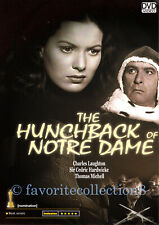 The Hunchback of Notre Dame Charles Laughton DVD M